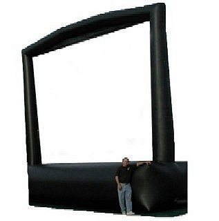 Giant Inflatable Movie Screen with Projector